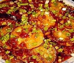 鱼香茄饼的做法的做法
