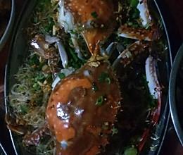 粉蒸蟹的做法