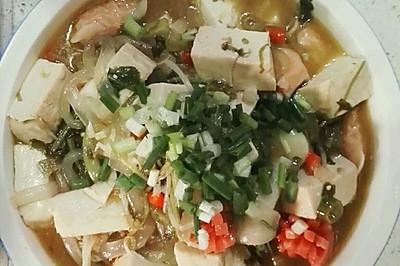 酸辣海鲜汤