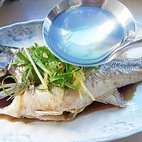【低热量】清蒸鲈鱼的做法图解9