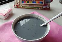 黑芝麻豆浆的做法