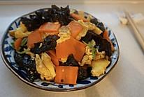 中餐 菠菜木耳炒鸡蛋的做法