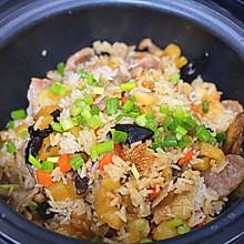 厨房小白也能轻松驾驭 土豆腊味煲仔饭电饭锅版