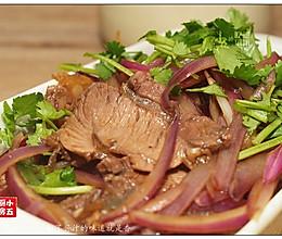 洋葱拌牛肉:加了酱汁的味道就是香的做法