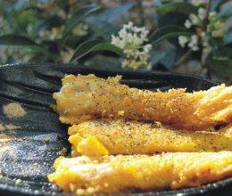黑椒九肚鱼的做法