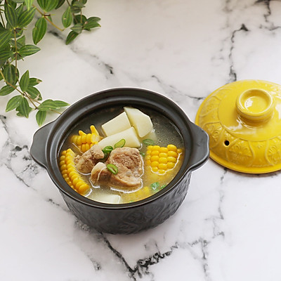 排骨玉米山药汤