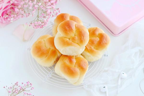 椰香老面包的做法