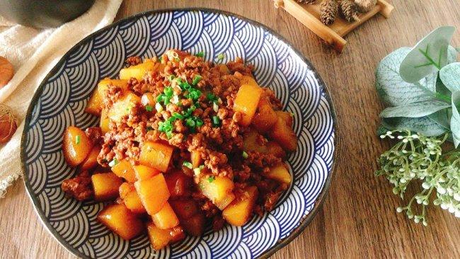 #少盐饮食 轻松生活#无敌下饭巨好吃的肉末土豆丁的做法