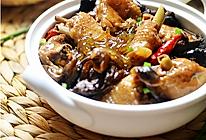 小鸡炖蘑菇加粉条的做法