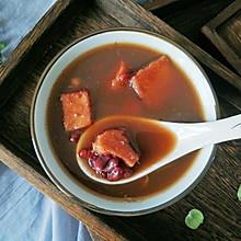 #洗手作羹汤#榴莲壳红豆汤