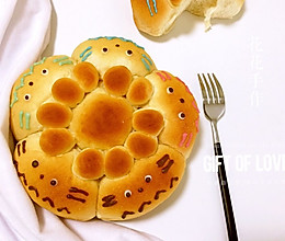 龙猫夹馅面包的做法