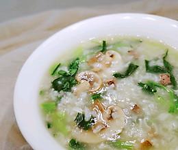 #换着花样吃早餐#生滚菠菜猪肝粥的做法