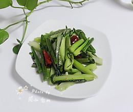 炒菜苔的做法