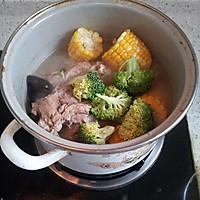 时蔬大骨汤的做法图解5