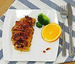 一食半刻 | 香蒜蜂蜜煎鸡扒的做法