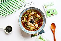 酸汤馄饨#全电厨王料理挑战赛热力开战!#的做法