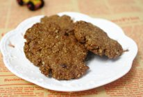 午后健康小零食:红糖燕麦饼干的做法