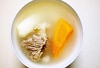 淮山萝卜汤的做法