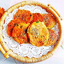 #人人能开小吃店#南瓜丝、韭菜、鸡蛋饼