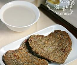 黑豆浆&黑豆培根饼的做法