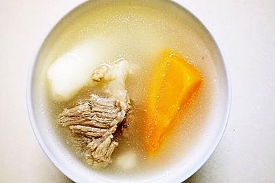 淮山萝卜汤
