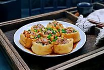 油豆腐酿肉糜#硬核家常菜#的做法