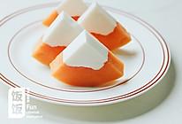 椰奶木瓜冻的做法