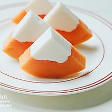 椰奶木瓜冻