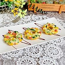 爱的魔力转圈圈—芝士蔬菜圈#520,美食撩动TA的心!#