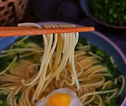 葱油鸡汁阳春面#太太乐鲜鸡汁玩转健康快手菜#的做法