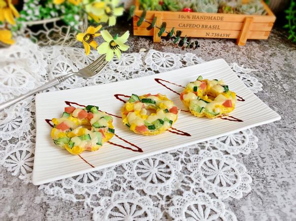 爱的魔力转圈圈—芝士蔬菜圈#520,美食撩动TA的心!#的做法