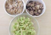 【健身餐】里脊肉香菇+清炒花菜+糙米饭的做法