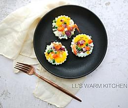 秀出你的早餐:虾扯蛋的做法