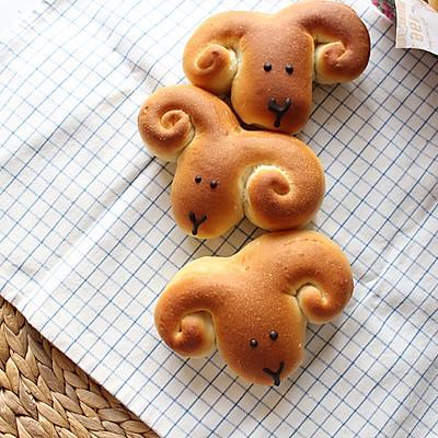 汤种小面包--羊咩咩