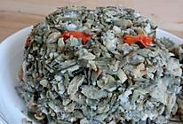 炒洋槐花蒸菜的做法