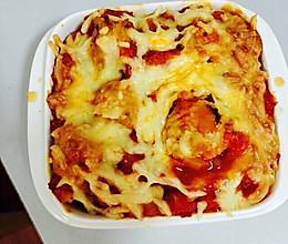 茄汁肉丸焗饭的做法