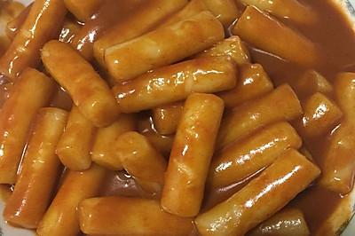 简易韩式辣年糕