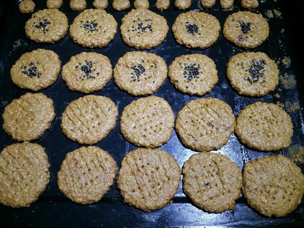 红糖燕麦片小酥饼~的做法