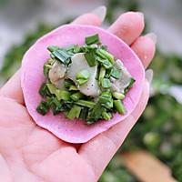 #硬核菜谱制作人#牡蛎韭菜粉嫩饺子的做法图解16