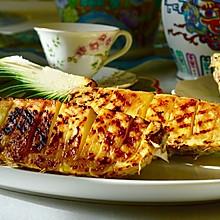 阳光味的快手甜点:烧烤菠萝快车