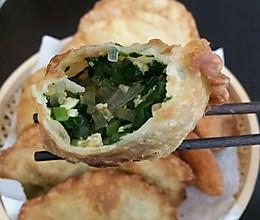 韭菜菜角……炸的做法
