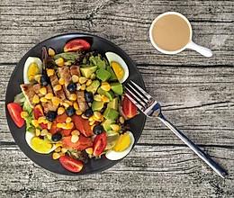 健康减脂沙拉的做法