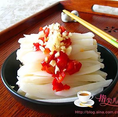 夏天里超简单的开胃小菜---剁椒藕条