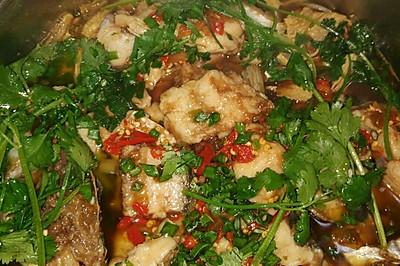 超级美味的石锅鱼 火锅鱼