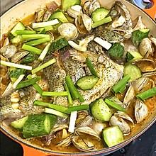 纯净一锅鲜~法式水煮鱼