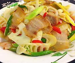 春笋炒腊肉的做法