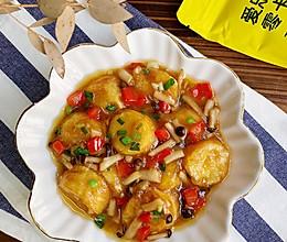 #爱乐甜夏日轻脂甜蜜#家常日本豆腐 咸鲜下饭的做法