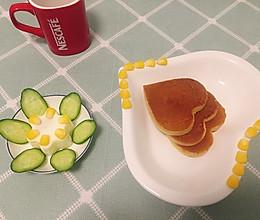 香蕉牛奶鸡蛋饼(早餐4)的做法