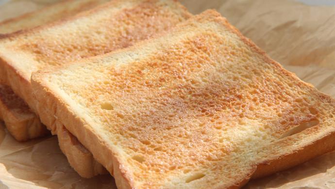 简简单单小零食——香脆吐司