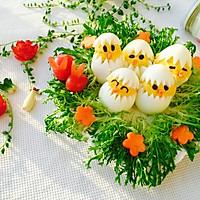蛋黄萌小鸡沙拉#丘比轻食厨艺大赛#的做法图解10